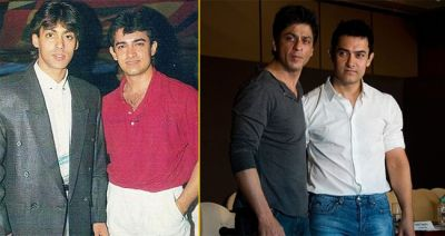 Aamir Khan is feeling nostalgic while talking about his first meets with other Khans