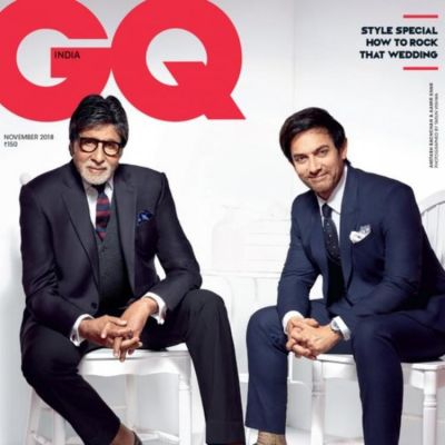 Aamir Khan and Amitabh Bachchan look dapper in new GQ magazine cover page