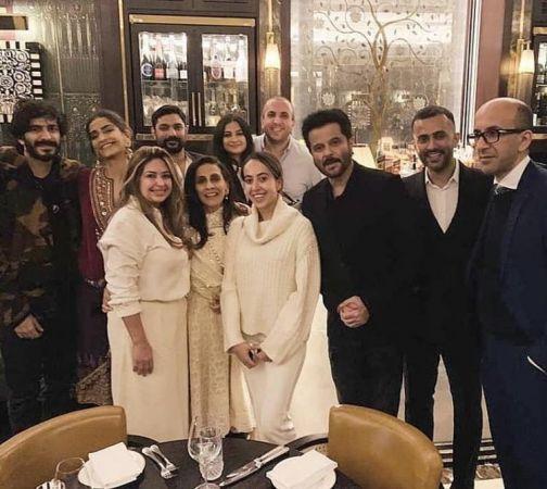 Anil Kapoor, Sunita, Rhea, Harshvardhan, Sonam & Anand Ahuja keep simple Diwali celebration