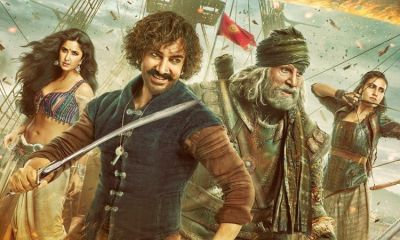 TOH Box Office collection day 1: Aamir Khan, Amitabh Bachchan starer touches Rs. 50 crore mark on opening day