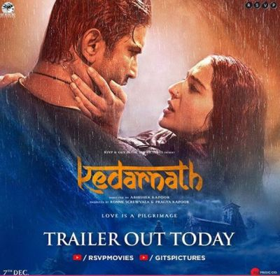 KedarnathTrailer out today: Sushant Singh Rajput and Sara Ali Khan's charming chemistry will melt your heart
