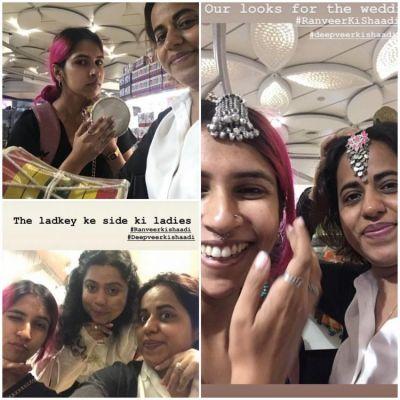 Deepika Padukone Ranveer Singh wedding:  See pics of Ranveer's Band Baaja Baaraat team jets off to Italy