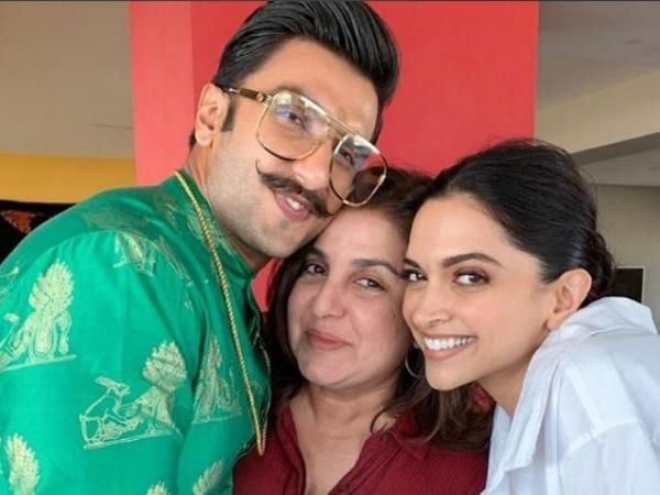 SEE PICS :Farah Khan presents a special wedding gift for newlyweds Deepika Padukone and Ranveer Singh