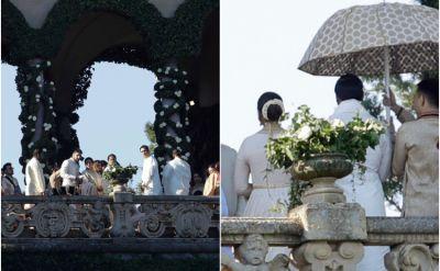 See Pics : Deepika Padukone-Ranveer Singh Sindhi Wedding - RAMLEELA look great in white