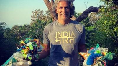 To be 'smarter than monkeys': Milind Soman urges people