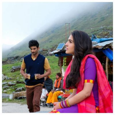 The cast and crew faced extreme weather conditions during the shoot of Kedarnath