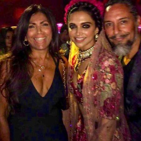 See Photo: Deepika Padukone's floral tiara gets limelight at Ranveer Singh's sister Ritika's party