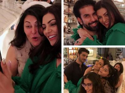 See pics : Sushmita Sen shares photos from her fun-filled birthday bash in Dubai