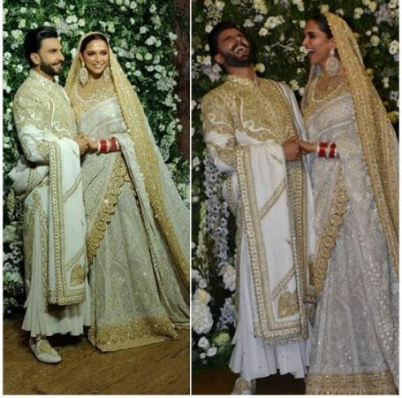 Ranveer Singh and Deepika Padukone Mumbai Reception : DEEPVEER look RADIANT and impressively Royal