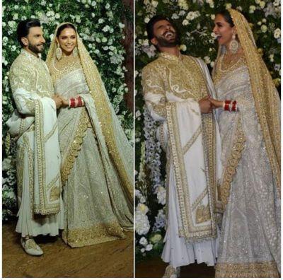 Ranveer Singh and Deepika Padukone Mumbai Reception : DEEPVEER look RADIANT and impressively Royal