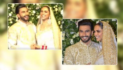 Watch Simba actor Ranveer Singh's million dollar smile, when snappers call his wife Deepika 'Bhabhiji'