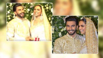 Watch Simba actor Ranveer Singh's million dollar smile, when snappers call his wife Deepika 'Bhabhiji'