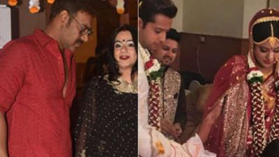 Ajay Devgan Arrived in his Daughter's Wedding