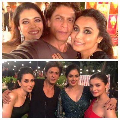 KKHH Reunion~ SRK posted picture with Kajol and Rani Mukerji
