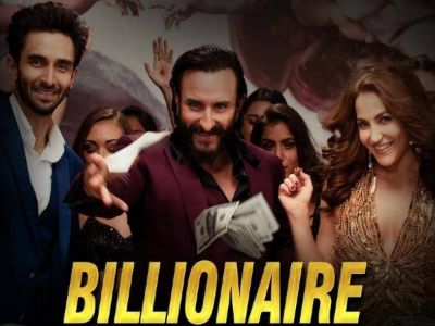 The second song of 'Baazaar' released, Saif seen dancing with Eli Avram on the beats of 'Billionaire'