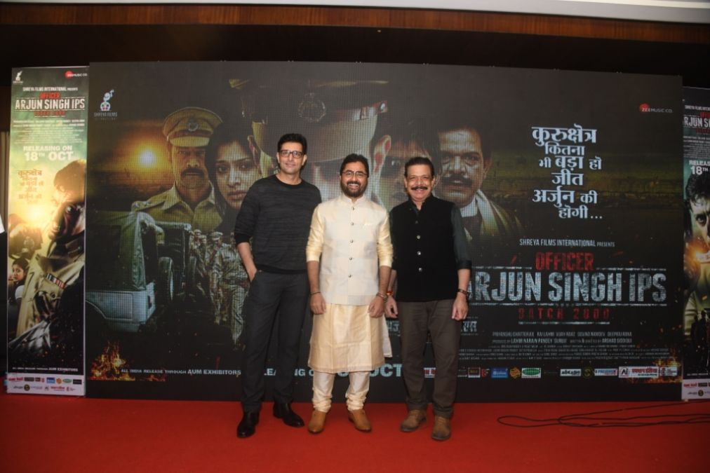 Grand Trailer & Music launch of 'Officer Arjun Singh IPS Batch 2000'