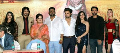 Ali Asgar, Hiten Tejwani at mahurat of Vikram Sandhu and Prabsimran Sandhu's Hindi film Mahi