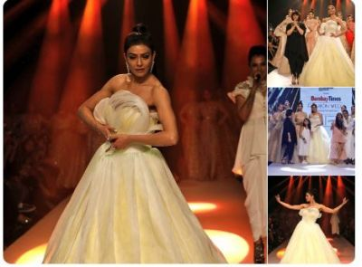 In Pics: Sushmita Sen stole the show at BombayTimes Fashion Week being a showstopper for Neeta Lulla