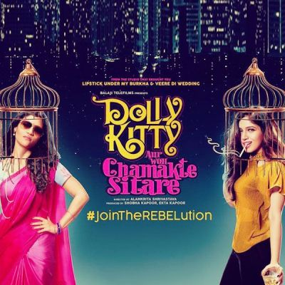 Ekta Kapoor unveils the first poster of Dolly Kitty Aur Woh Chamakte Sitare