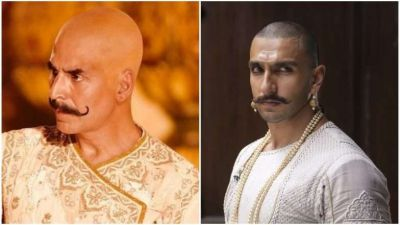 Akshay's Bald avatar from film Housefull 4 is out, will make you remember  Ranveer's look