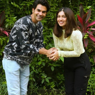 Bhumi Pednekar and Rajkummar Rao come together for Badhaai Do
