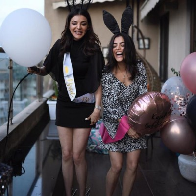 Kajal Aggarwal wishes sister Nisha Aggarwal in CUTEST way, check out beautiful pics here