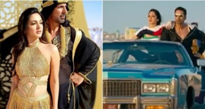Kiara Advani shares her experience on shooting the song 'Burj Khalifa'