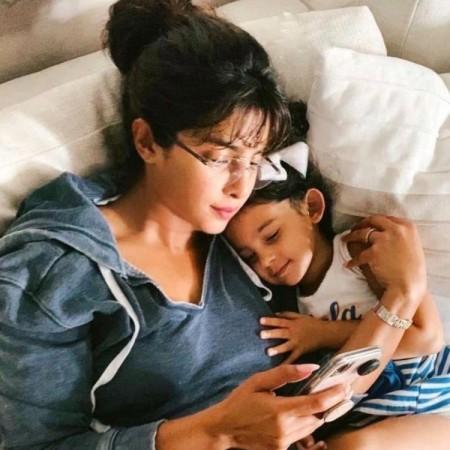 प्रियंका चोपड़ा को अपनी भतीजी की याद आई, शेयर की तस्वीर