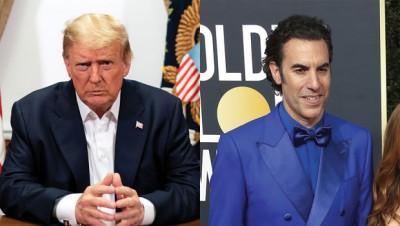 Donald Trump calls 'Borat' star an unfunny 'creep'