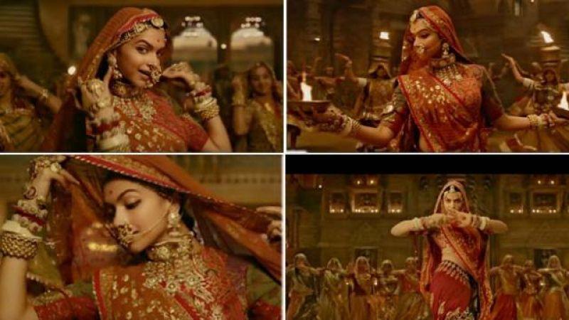 The Making of Padmavati's 'Ghoomer' Deepika Padukone's 66 ...