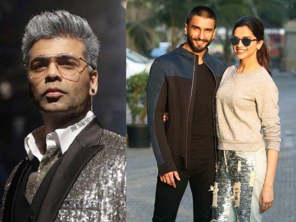 Karan Johar not 'Denied' about Ranveer Singh and Deepika Padukone's wedding