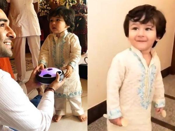 See Pics: Taimur Ali Khan celebrates Ganeshutsav with whole family