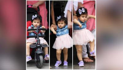 See PICS: Birthday girl Inaaya Naumi Kemmu clicked in a princess doll look