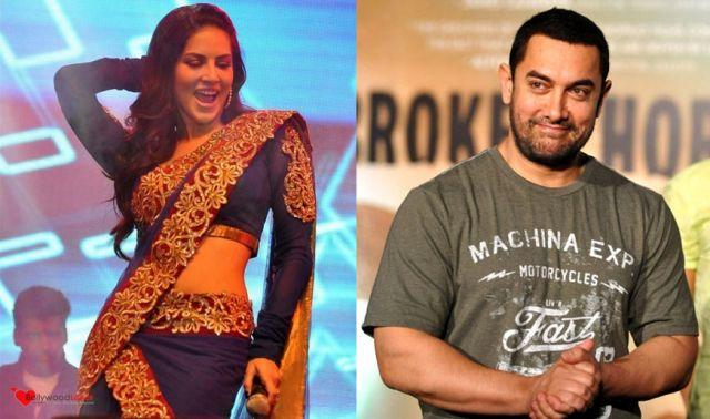 आमिर को भी चाहिए हॉट सनी...