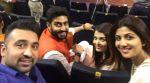 Abhishek Bachchan ,Aishwarya Rai and Shilpa Shetty are proud parents at their kids' Annual Day!
