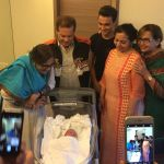 See! the first licked picture of Salman's nephew Ahil