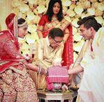 Karan Singh Grover and Bipasha Basu at Mandap