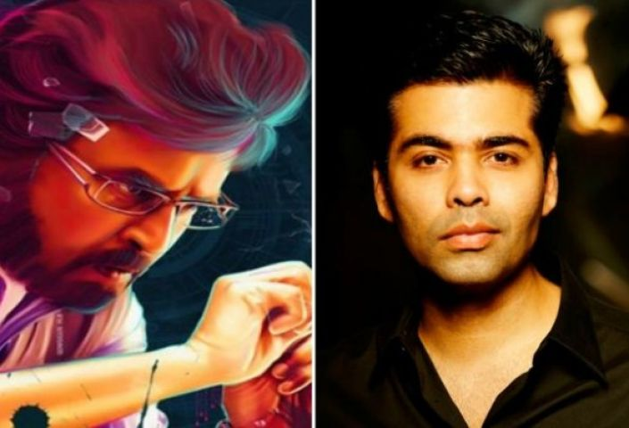 तमिल फिल्म '2.0' के फर्स्ट लुक के लॉन्च की मेजबानी करेंगे करण