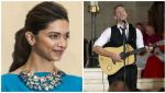Chris Martin snapped chilling with Deepika Padukone after event
