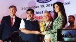 'Katrina Kaif' honoured with 'Smita Patil Memorial' award;See the pictures !