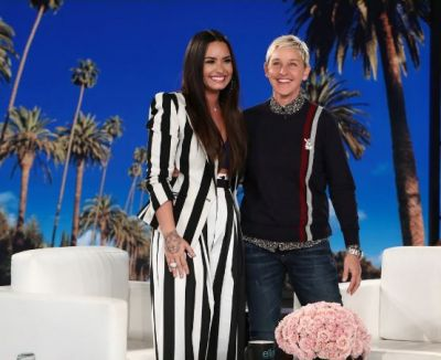 Ellen and wife invite Demi to stay with them