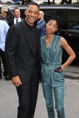 Will Smith says,  his daughter Willow really tested him