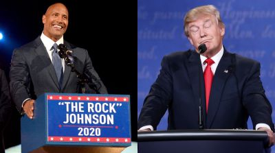 I won't Stand for Donald Trump: Dwayne Johnson