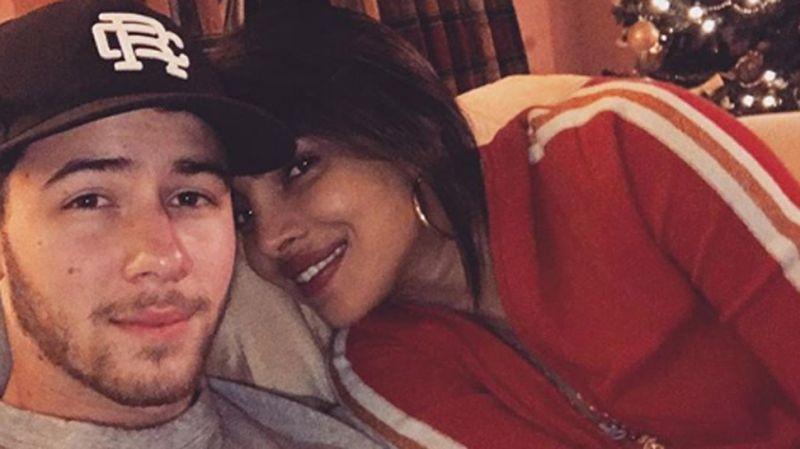See Pics- Priyanka Chopra and Nick Jonas celebrate their first Christmas after -weddig