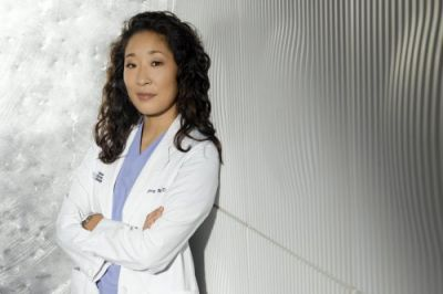 First woman of Asian descent to receive Emmy best actress nomination:  Sandra Oh