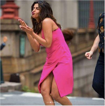 Priyanka Chopra sizzled the streets of New York city by her super elegant dance performance