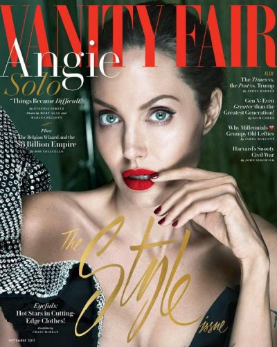 Angelina Jolie shots for Vanity Fair and talks about her separation with Brad Pitt