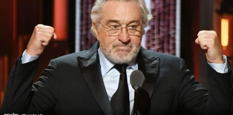 De Niro once again revolted Against Trump