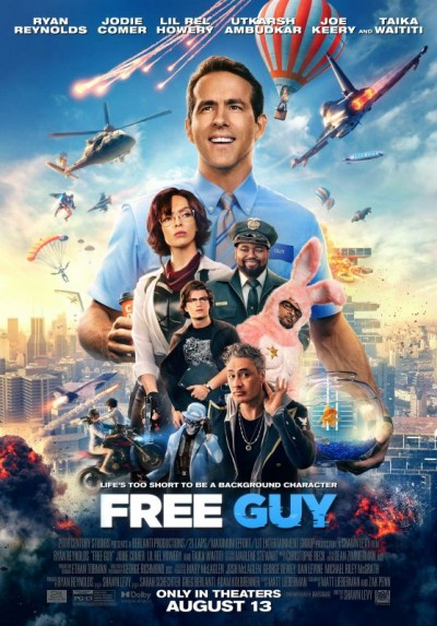 Ryan Reynolds adventure comedy Free Guy its first trailer out