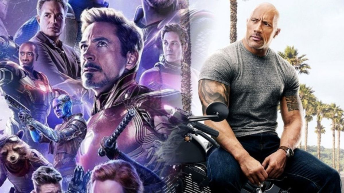 The Rock congratulates Avengers: Endgame on its huge success